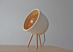 WOODY Lamp White available www.jaapa-furniture.com