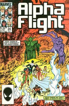 Alpha Flight # 24 by John Byrne
