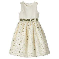 American Princess Girls 7-16 Soutache Dress