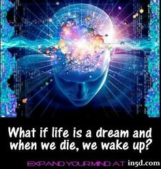 Quantum Physics - What if Life is a Dream and when we die, we wake up?