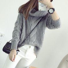 Envy Hooded Twist Sweater