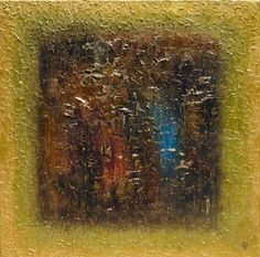 ABSTRACT FEELINGS - LARGE SQUARED ABSTRACT PAINTING