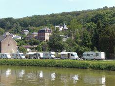 Wohnmobilstellplatz Bogny-sur-Meuse, Champagne, Ardennen, Frankreich Aire Camping Car, Ardennes, Motorhome, Caravan, Recreational Vehicles, Champagne, Cabin, France, House Styles