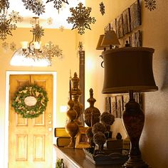 Holiday decorating ideas on a dime