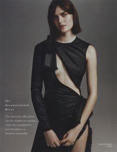 #VersaceEditorials - Perfection unravelled. PORTER UK - Spring '16 Issue  Stylist: Ondine Azoulay  Photographer: Sarah Piantadosi