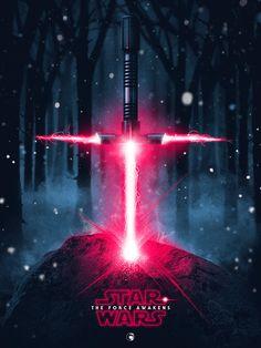 Star Wars VII by Patrick Connan