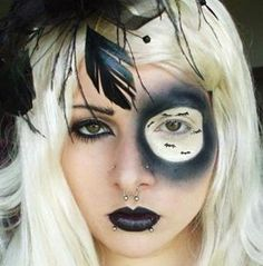 20 Scary Halloween Makeup Ideas for Horror Party