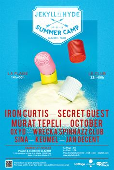 Flyer / Summer Camp by Jekyll 2013 on Behance