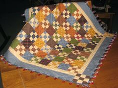 9-Patch used as table topper.