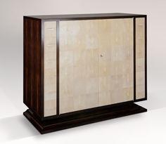 Atelier Viollet - Low Cabinet in Shagreen & Macassar Ebony