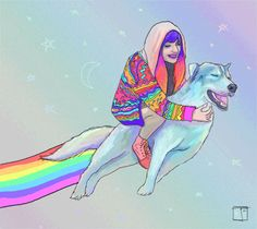 Adventure Time drawing funny trippy happy beautiful psychedelic fun trip rave adventure digital art good vibes happyness plur nyan anime art artists on tumblr fun times artists of tumblr dog love edmlife trippy visuals nyan dog magical art
