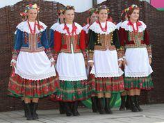 Traditional Polish garb (Krakow)