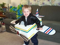I'm totally doing this for Halloween.  :)   airplane
