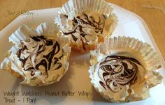 WW Peanut Butter Whip Treat is 1 point http://just2sisters.com/wp-content/uploads/2013/03/pb-whip1.jpg