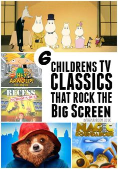 6 Children's TV Classics that Rock the Big Screen - In The Playroom