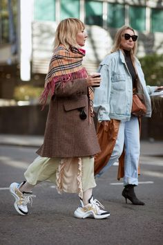 See the looks that caught our attention, and stay tuned for more of London Fashion Week's top street style moments.