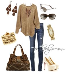 """browns"" by cvock on Polyvore"