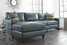 St. Croix Leather Sectional