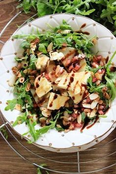 Crunch of Guernsey andouille with buckwheat and mint sauce - Healthy Food Mom Healthy Cooking, Healthy Eating, Healthy Recipes, Sprout Recipes, Slow Food, Clean Eating Snacks, Food Inspiration, Salad Recipes, Lunch