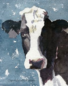 Cow Print Black and White Cow print in blue 8.5 x 11 paper size Cow print of…