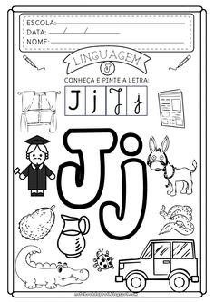 Notebook da Profª: Atividades Letra J