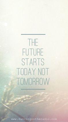 El futuro inicia hoy, no mañana