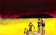 Looking: Jari Ronkko – Distrusted Saatchi Online, Saatchi Art, Artist, Painting, Oil, Board, Pintura, Painting Art, Paintings