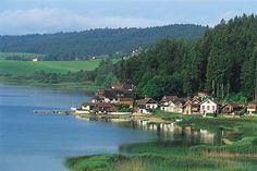 Lac de Malbuisson (© CRT Franche-Comté / Hervé HUGHES)