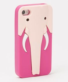 cute! :: Pink Elephant Case for iPhone 4/4s
