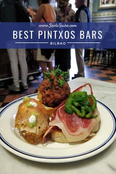 Best pintxos bars Bilbao has to offer, and why Gran Hotel Domine is a must Steak Tartare, Black Pudding, Cocktail Sticks, Crab Meat, Cafe Bar, Bilbao, Stuffed Green Peppers, Europe, Meals