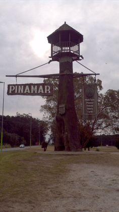 Icono trandicional de Pinamar, ciudad de la costa de Buenos Aires - Argentina.