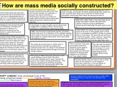 How are Mass Media Socially Constructed: Agenda-setting,Norm-setting, Gate-Keeping A-Level Sociology Sociology A Level, Moral Panic, Revision Tips, Media Studies A Level, Third Grade Science, Physics Classroom, Forensic Anthropology, Developmental Psychology, Materials Science