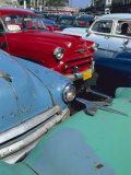 Old American Classic Cars, Transport, La Habana, Cuba Photographic Print by Bruno Morandi