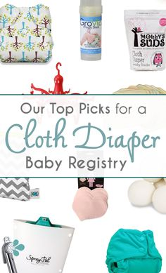 Spray Pal Blog: Our Top 10 Picks for a Cloth Diaper Baby Registry