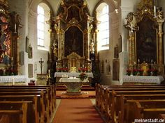 inside Theurn church
