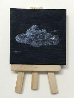 7.5 x 7.5 cm Nube