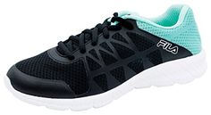 Fila USA Womens Athletic FootwearFINITY_BlackArubaBlueWhite_7 ** Want to know more, click on the image.