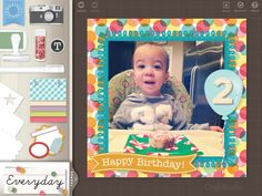 There are so many fun things you can do with the Martha Stewart CraftStudio App for the iPad! #scrapbooking #projectlife #marthastewartcrafts