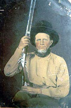#52 - Peter Acker - Co. C  3rd Texas Cavalry, brother of my 4th GGM, Lucinda Acker.   (He is one of those Civil War era family members I'll be studying in 2016.)