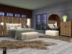 Osmium Bedroom by wondymoon - Sims 3 Downloads CC Caboodle