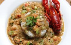 Dig into this recipe for Louisiana Crawfish Etouffee