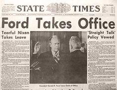 9 de agosto de 1974 - State Times.
