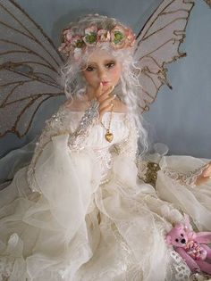 White fairy queen