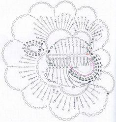 free form crochet esquemas - Cerca con Google
