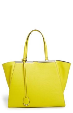 Fendi 'Medium 3Jours' Leather Shopper available at #Nordstrom