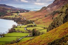 pagewoman: Rannerdale Knotts, Lake District, Cumbria, England (by Andrew Locking)