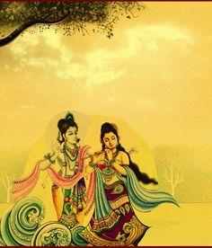 Radha krishna-The eternal lovers!