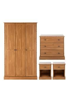 This Glamour 2 Door Wardrobe in Black from Argos will complete