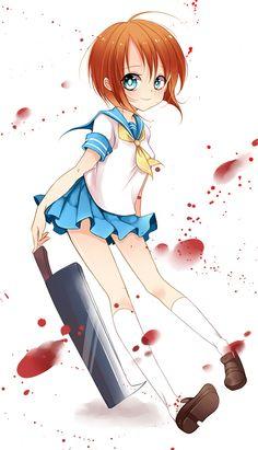 Anime ✮ Higurashi No Naku Koro Ni / When They Cry   Rena Ryuuguu