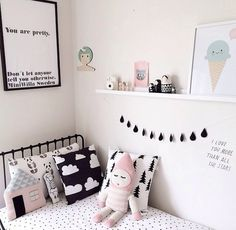 Perfect personal room decoration for you baby! Baby Bedroom, Girls Bedroom, Bedroom Decor, Bedroom Lighting, Bedroom Ideas, Bedroom Wall, Master Bedroom, Kids Room Design, Little Girl Rooms